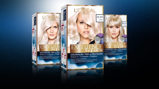 L'Oreal IMEDIA Excellence Ice Colors