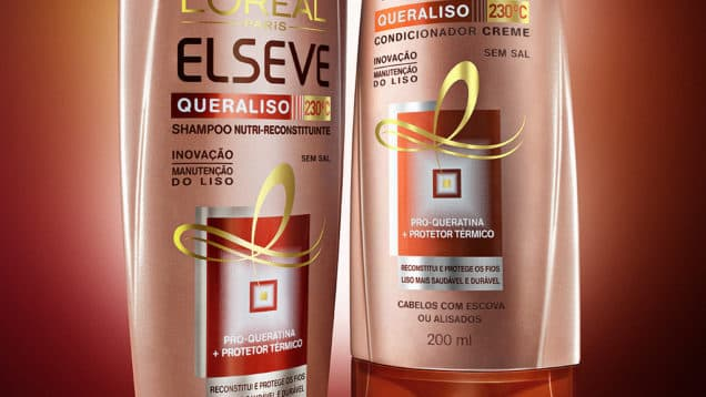 Elseve Queraliso 230°C L'Oreal